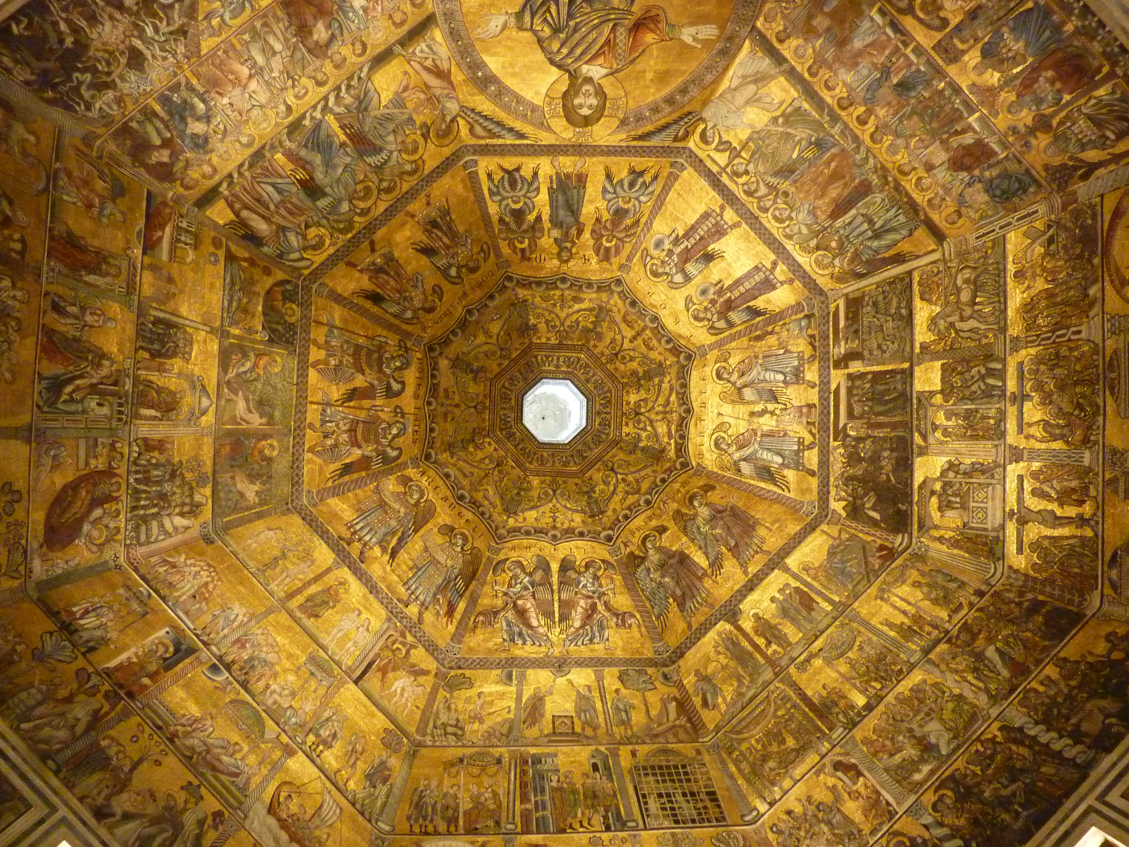 & Florence Baptistery:Visit Florence and the Baptistery of St.John