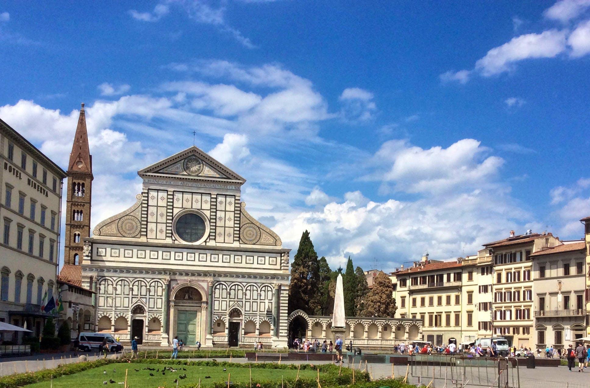 piazza santa maria novella in florence italy