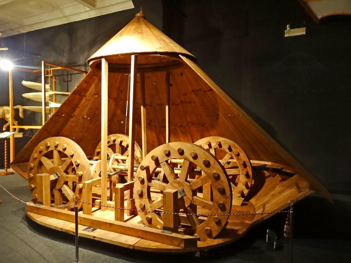 Museo Leonardo Da Vinci Firenze.Leonardo Da Vinci Museum Machines By Leonardo Inspired By Drawings