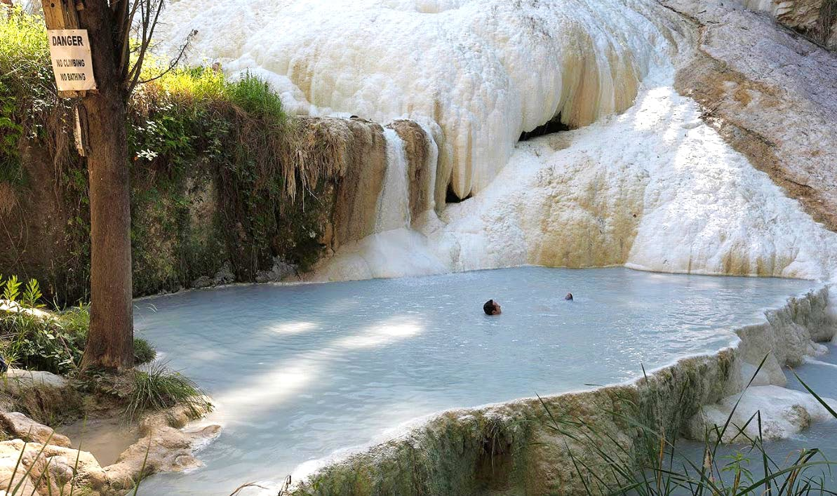 Hot Springs in Tuscany:Enjoy Natural Hot Springs Outdoors in Bagni ...