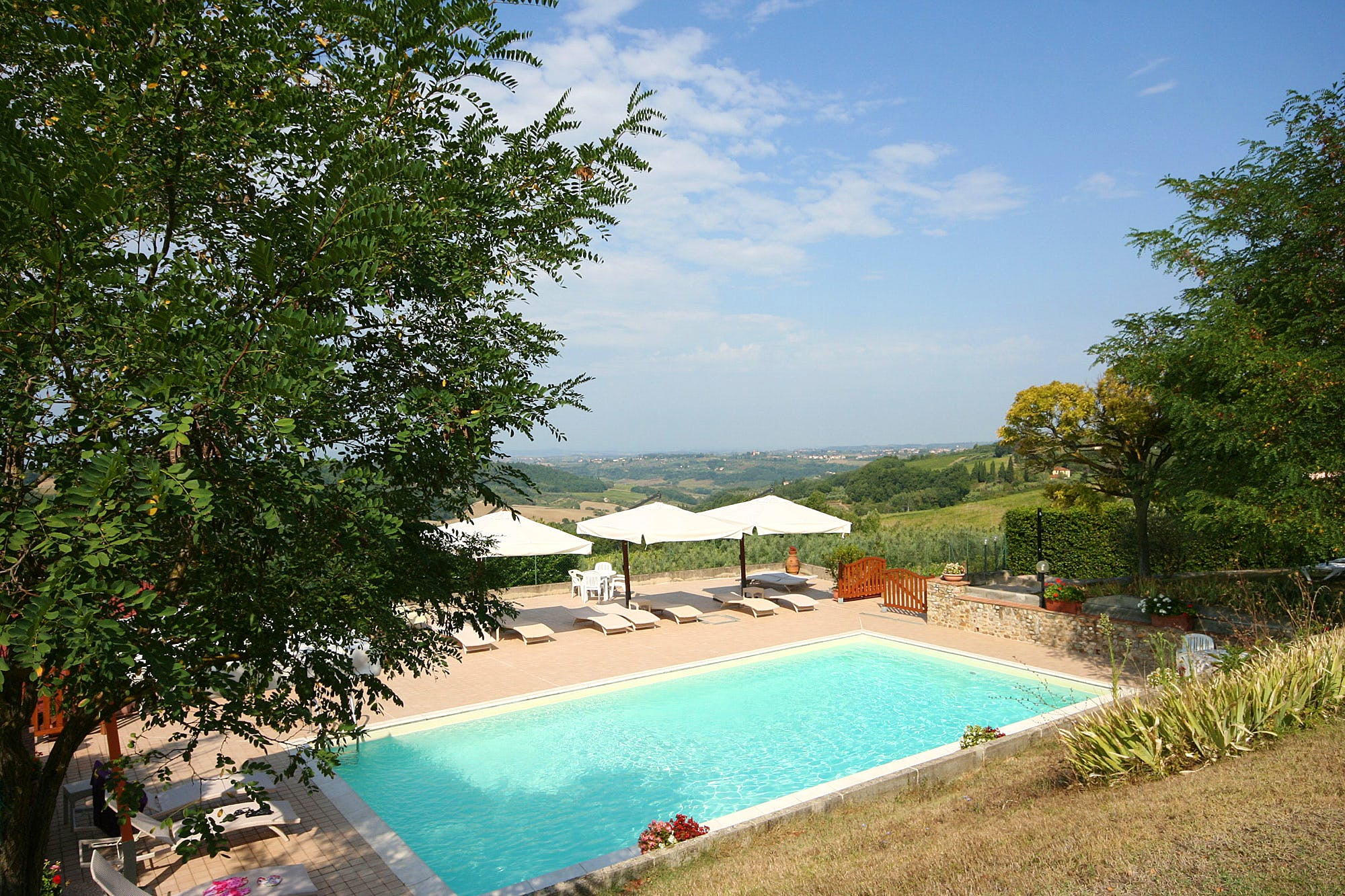 Chianti Farmhouses:Agriturismo Accommodation in Chianti Tuscany