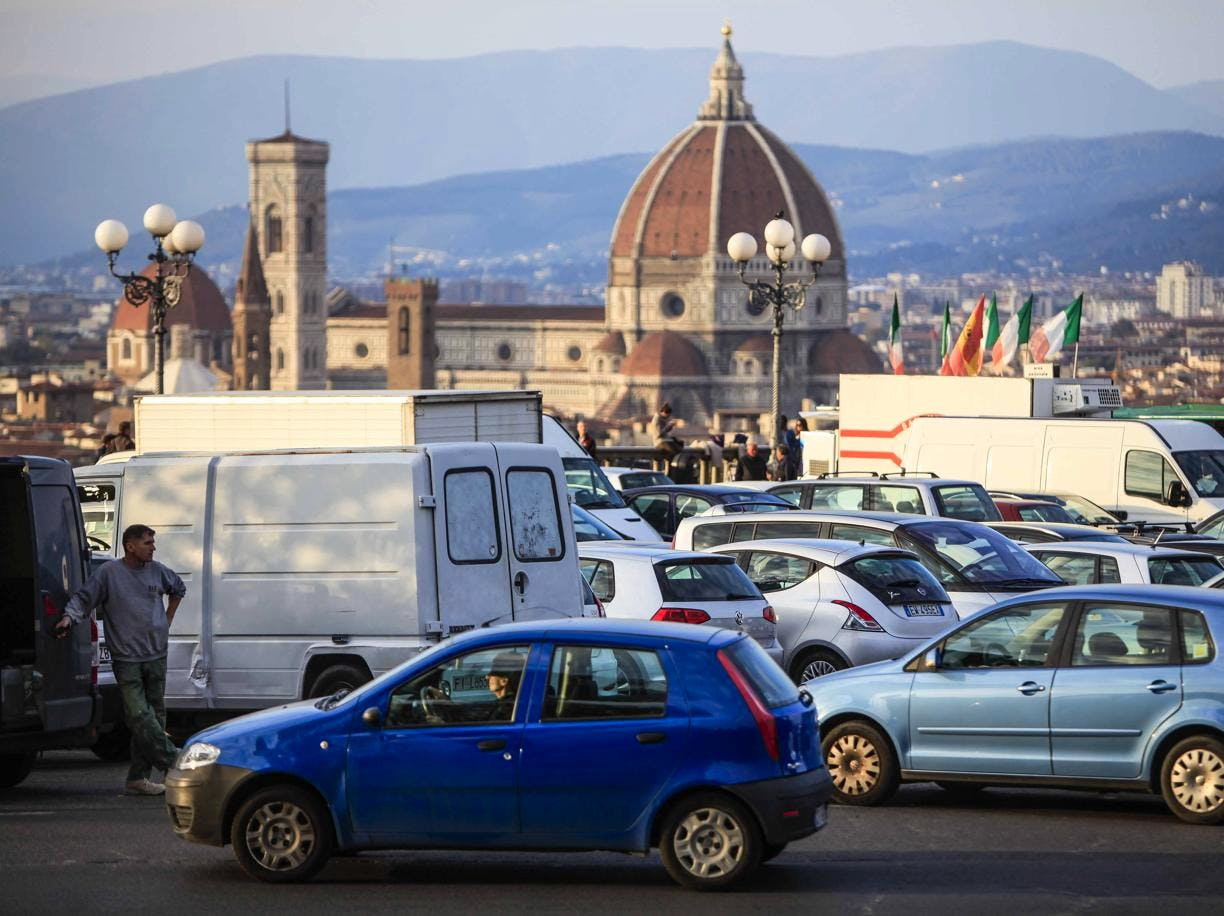 Where To Park In Florence Italy Map List Of Parking In Florence